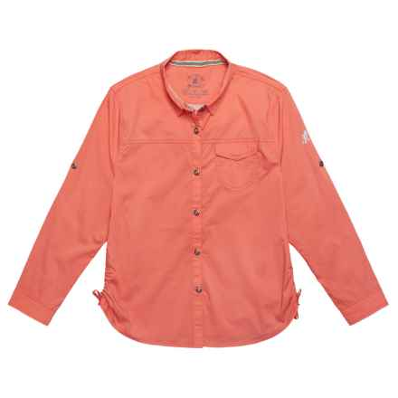 Gramicci Buggin Shirt - UPF 40+, Long Sleeve (For Girls) in Sugar Coral - Closeouts