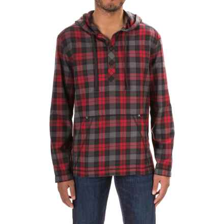 Gramicci Burner Flannel Hoodie (For Men) in Fiery Red - Closeouts