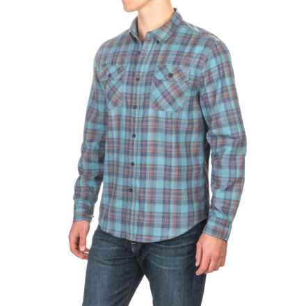Gramicci Burner Flannel Shirt - Long Sleeve (For Men) in Coastal Blue - Closeouts