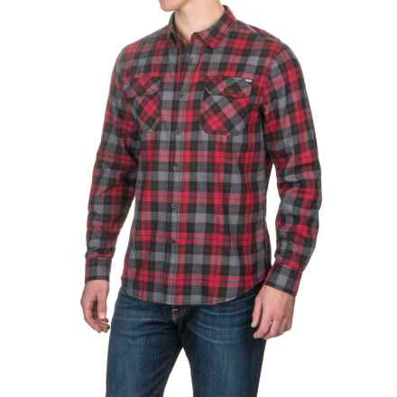 Gramicci Burner Flannel Shirt - Long Sleeve (For Men) in Fiery Red - Closeouts