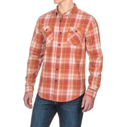 Gramicci Burner Flannel Shirt - Long Sleeve (For Men) in Harvest Orange - Closeouts