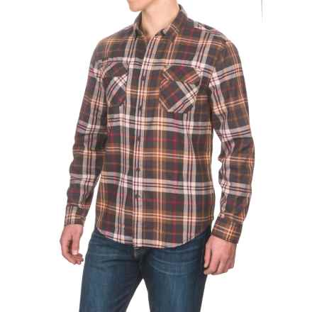 Gramicci Burner Flannel Shirt - Long Sleeve (For Men) in Havana Coffee - Closeouts