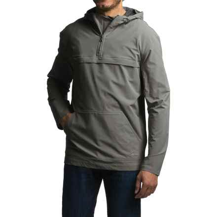 Gramicci Buttermilks Climbing Solid Hooded Jacket - Zip Neck (For Men) in Asphalt Grey - Closeouts