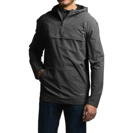 Gramicci Buttermilks Climbing Solid Hooded Jacket - Zip Neck (For Men) in Black - Closeouts