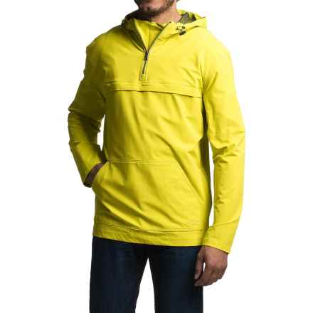 Gramicci Buttermilks Climbing Solid Hooded Jacket - Zip Neck (For Men) in Citron - Closeouts