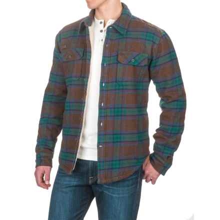 Gramicci Campfire Shirt Jacket (For Men) in Military Green - Closeouts