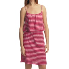 Gramicci Cassia Sundress - Dafina Stripe, Sleeveless (For Women) in Rose Red - Closeouts