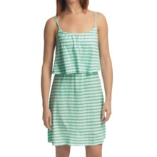Gramicci Cassia Sundress - Dafina Stripe, Sleeveless (For Women) in Spa Blue - Closeouts