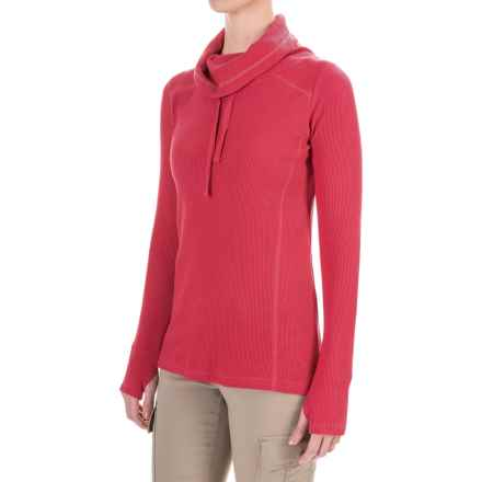 Gramicci Celestina Thermal Turtleneck - Long Sleeve (For Women) in Berry - Closeouts