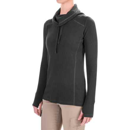 Gramicci Celestina Thermal Turtleneck - Long Sleeve (For Women) in Black - Closeouts