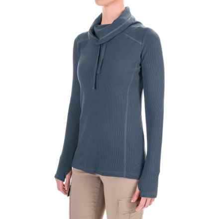 Gramicci Celestina Thermal Turtleneck - Long Sleeve (For Women) in Ink - Closeouts