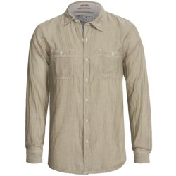 Gramicci Chambray Pacifica Shirt - Long Sleeve (For Men) in Capers