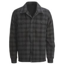 Gramicci Chandler Shirt Jacket - Wool (For Men) in Black Plaid - Closeouts