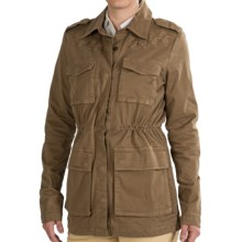 Gramicci Chloe Jacket - Cotton Twill (For Women) in Woody Brown - Closeouts