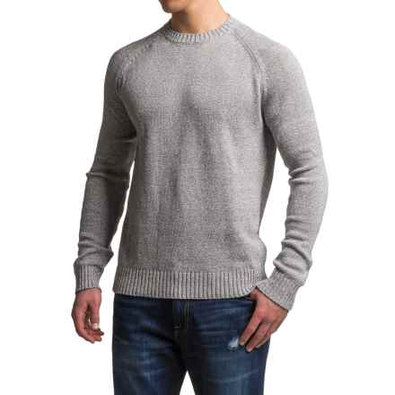 Gramicci Chopping Wood Sweater - Organic Cotton-Hemp (For Men) in Marled Grey - Closeouts