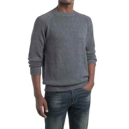 Gramicci Chopping Wood Sweater - Organic Cotton-Hemp (For Men) in Marled Navy - Closeouts