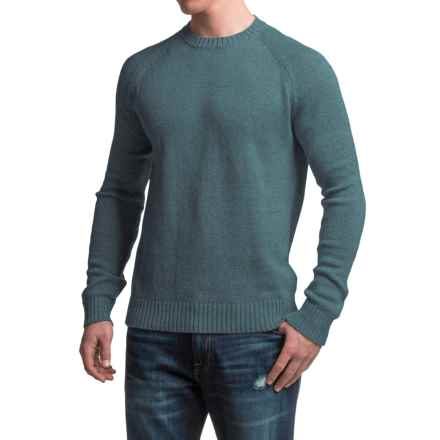 Gramicci Chopping Wood Sweater - Organic Cotton-Hemp (For Men) in Smoke Blue - Closeouts