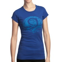 Gramicci Circle G Logo Ecologic T-Shirt - Organic Cotton Jersey, Short Sleeve (For Women) in Deep Ultramarine - Closeouts