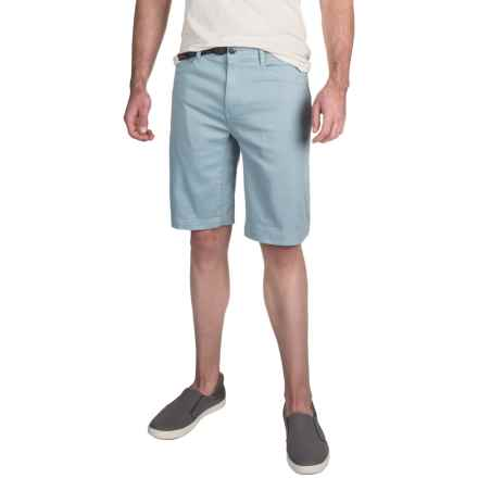 "Gramicci City Cotton Twill 11"" Shorts - UPF 50, Flat Front (For Men) in Laguna Blue - Closeouts"