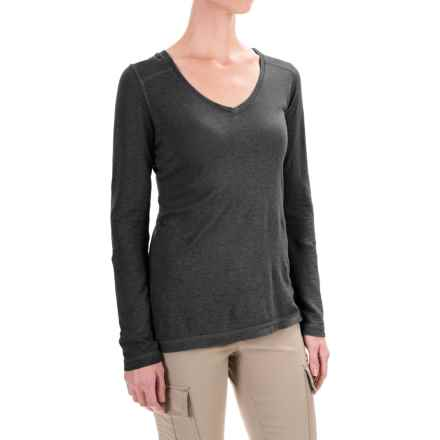 Gramicci Clementine Hemp Shirt - UPF 20+, Long Sleeve (For Women) in Black - Closeouts