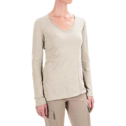Gramicci Clementine Hemp Shirt - UPF 20+, Long Sleeve (For Women) in Bone White - Closeouts