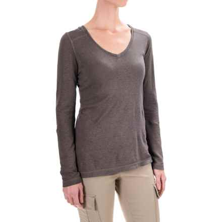 Gramicci Clementine Hemp Shirt - UPF 20+, Long Sleeve (For Women) in Mink Brown - Closeouts