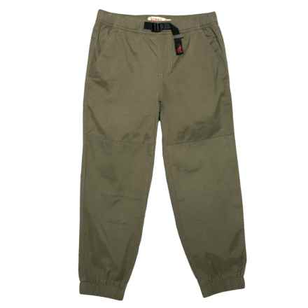 Gramicci Climber G Joggers (For Little and Big Boys) in Olive Stone - Closeouts