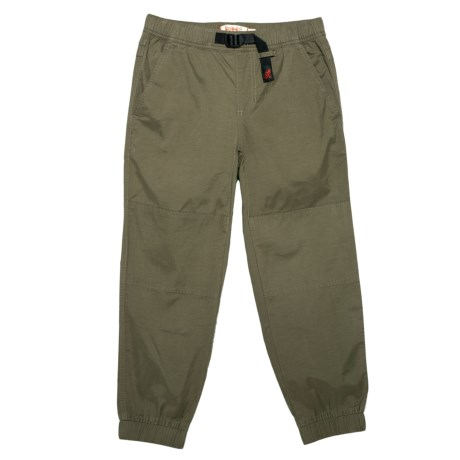 Gramicci Climber G Joggers (For Little and Big Boys) in Olive Stone