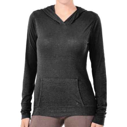 Gramicci Coco Hoodie Shirt - UPF 50, Organic Cotton-Hemp, Long Sleeve (For Women) in Black - Closeouts