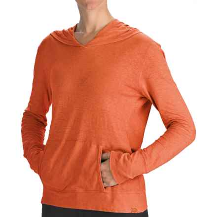 Gramicci Coco Hoodie Shirt - UPF 50, Organic Cotton-Hemp, Long Sleeve (For Women) in Burnt Orange - Closeouts