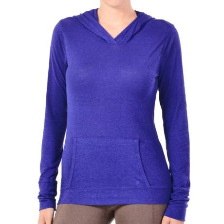 Gramicci Coco Hoodie Shirt - UPF 50, Organic Cotton-Hemp, Long Sleeve (For Women) in Nautical Blue