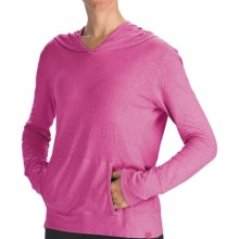 Gramicci Coco Hoodie Shirt - UPF 50, Organic Cotton-Hemp, Long Sleeve (For Women) in Rasberry Rose - Closeouts
