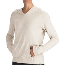 Gramicci Coco Hoodie Shirt - UPF 50, Organic Cotton-Hemp, Long Sleeve (For Women) in Star White - Closeouts