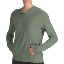 Gramicci Coco Hoodie Shirt - UPF 50, Organic Cotton-Hemp, Long Sleeve (For Women) in Thyme - Closeouts