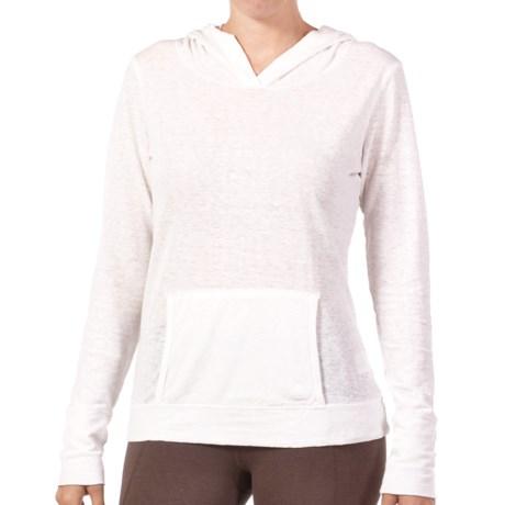 Gramicci Coco Hoodie Shirt - UPF 50, Organic Cotton-Hemp, Long Sleeve (For Women) in White