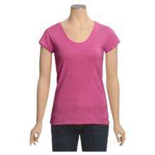 Gramicci Corawood Tunic Shirt - UPF 50, Hemp-Organic Cotton, Short Sleeve (For Women) in Rasberry Rose - Closeouts