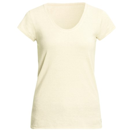 Gramicci Corawood Tunic Shirt - UPF 50, Hemp-Organic Cotton, Short Sleeve (For Women) in Star White