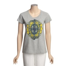 Gramicci Corawood Tunic T-Shirt - Organic Cotton, Short Sleeve (For Women) in Heather Grey - Closeouts