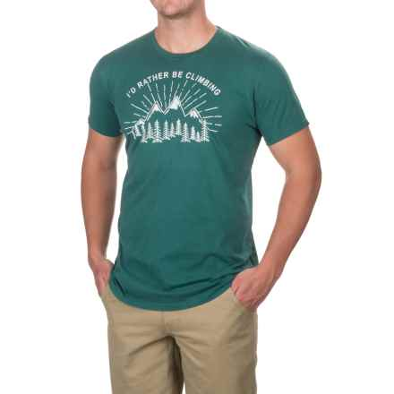 Gramicci Cotton T-Shirt - Short Sleeve (For Men) in Hunter Green - Closeouts