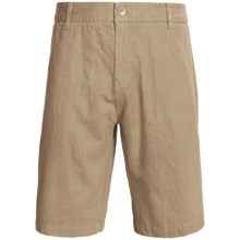 Gramicci Cresent League Shorts - UPF 50 (For Men) in Classic Khaki - Closeouts
