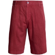 Gramicci Cresent League Shorts - UPF 50 (For Men) in Deep Red - Closeouts