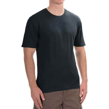 Gramicci Crew Neck Shirt - UPF 20+, Hemp-Organic Cotton, Short Sleeve (For Men) in Black - Closeouts