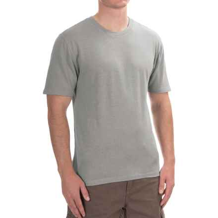 Gramicci Crew Neck Shirt - UPF 20+, Hemp-Organic Cotton, Short Sleeve (For Men) in Grey Stone - Closeouts