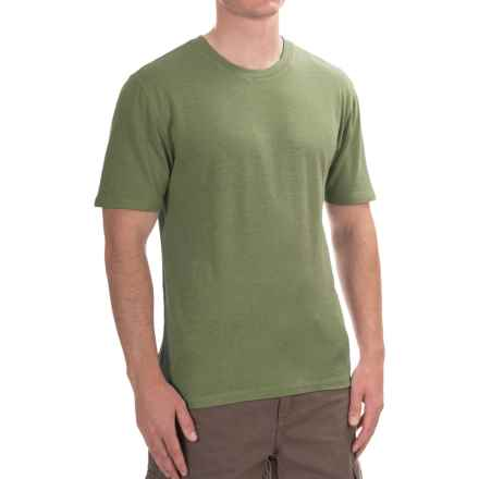Gramicci Crew Neck Shirt - UPF 20+, Hemp-Organic Cotton, Short Sleeve (For Men) in Sawgrass - Closeouts