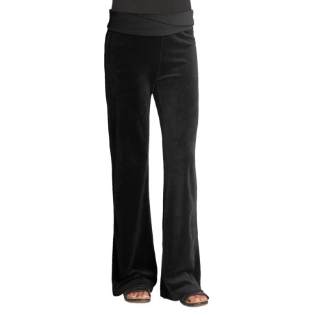 Gramicci Cristelle Velour Pants (For Women) in Silverweed