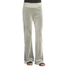 Gramicci Cristelle Velour Pants (For Women) in Silverweed - Closeouts