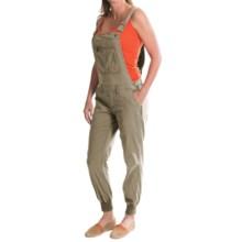 Gramicci Dana Poplin Crop Overalls (For Women) in Green Clay - Closeouts