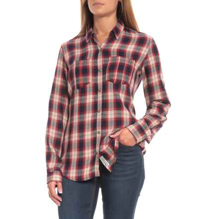 Gramicci Daphne Snap Front Shirt - Long Sleeve (For Women) in Red Plaid - Closeouts
