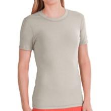 Gramicci Dash Isotonic Jersey T-Shirt - Organic Cotton, UPF 30 (For Women) in Camphore Grey - Closeouts