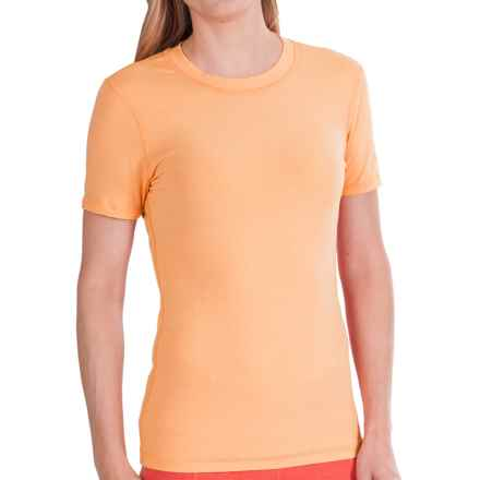 Gramicci Dash Isotonic Jersey T-Shirt - Organic Cotton, UPF 30 (For Women) in Papaya - Closeouts